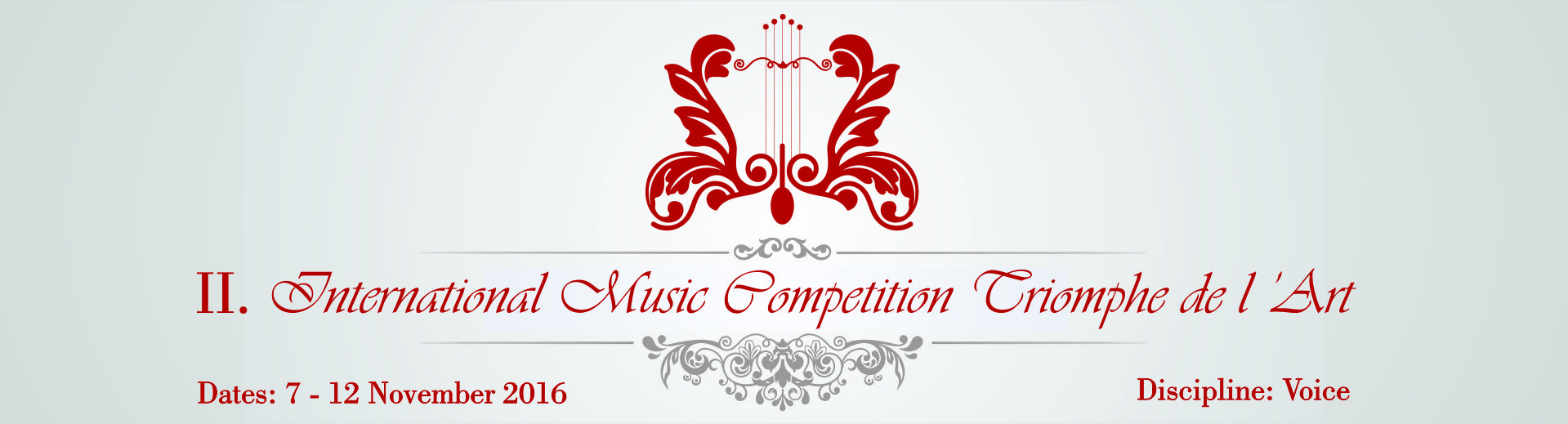 International Music Competition Triomphe de l'Art