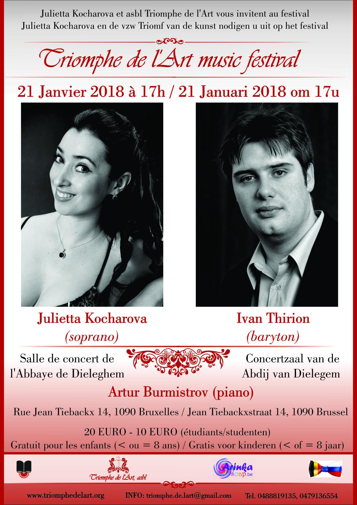 Ivan Thirion opera concert Brussels