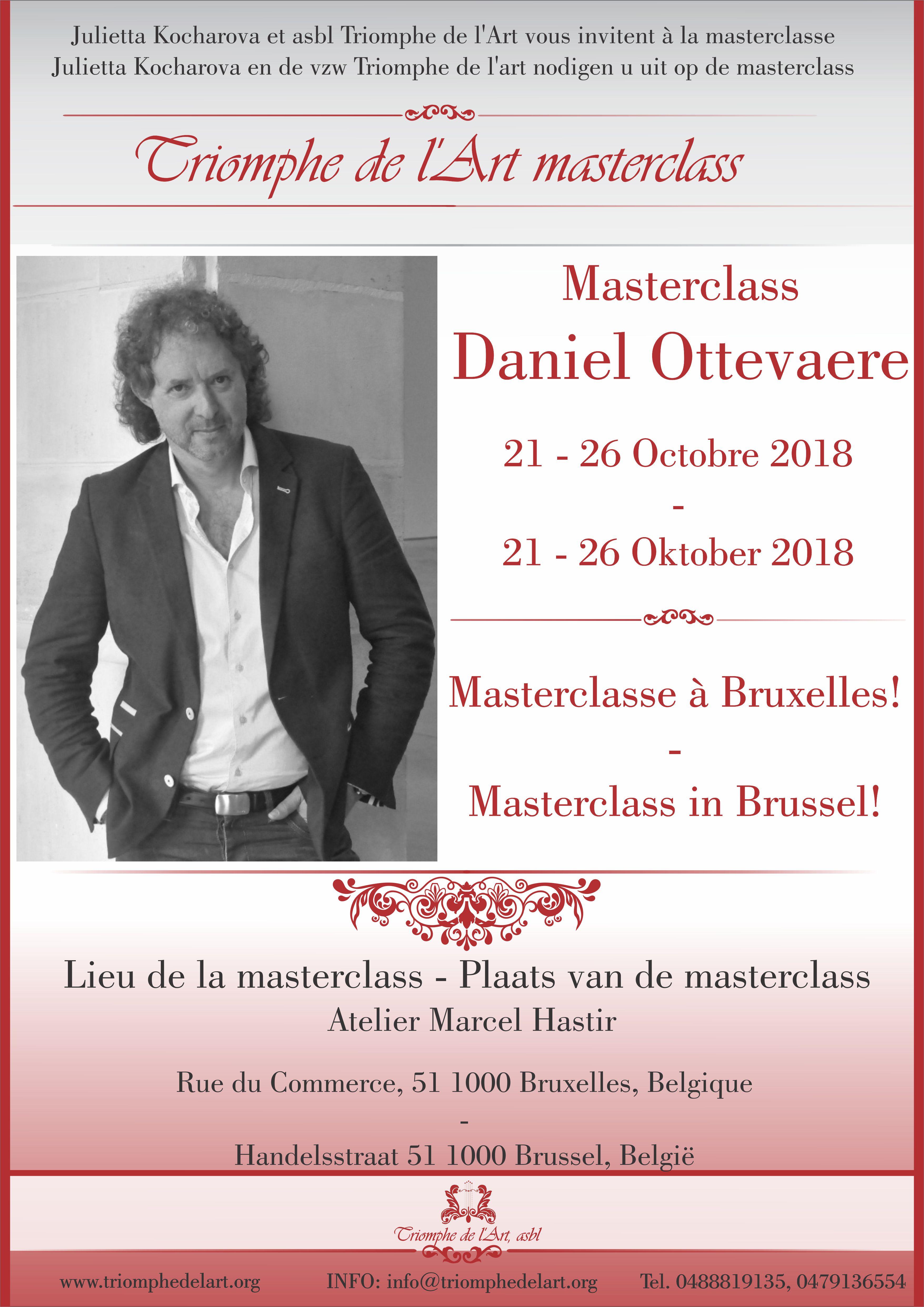 daniel ottevaere masterclasse 2018