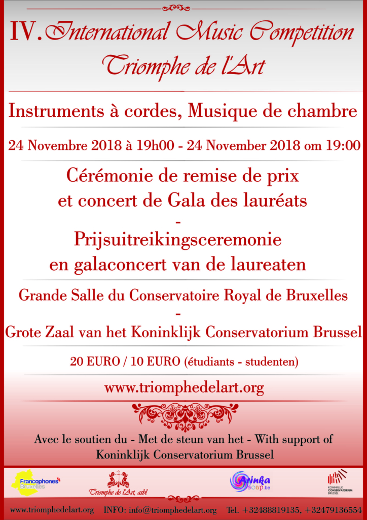 gala concert concours strings 2018