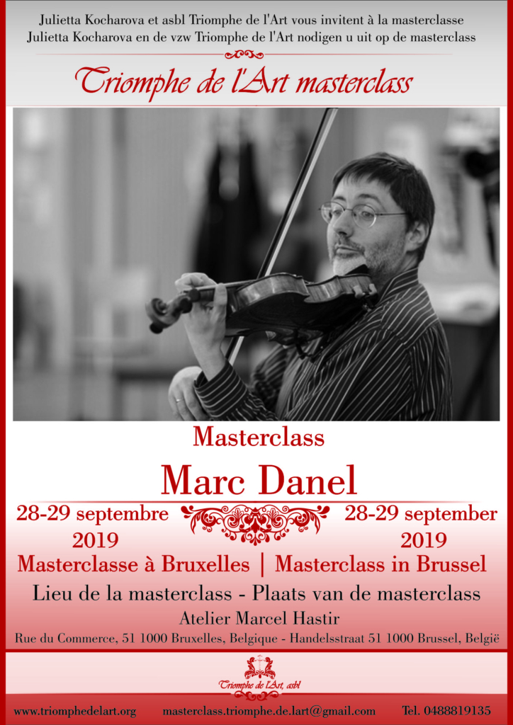 Marc Danel masterclass