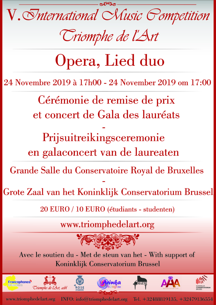 opera competition 2019