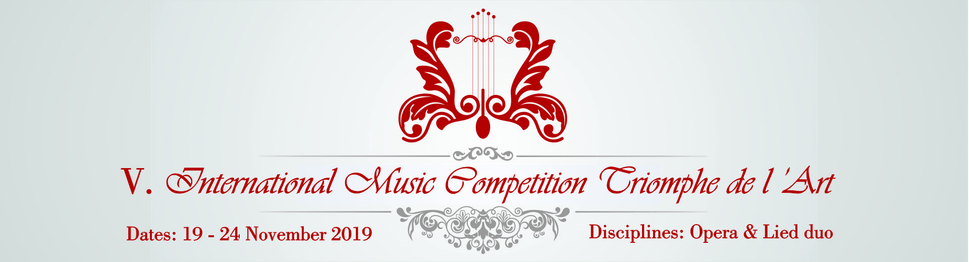V. International Music Competition Triomphe de l'Art