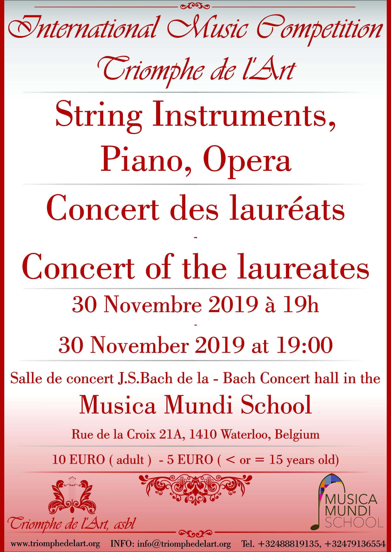 Triomphe De l'Art laureates concert