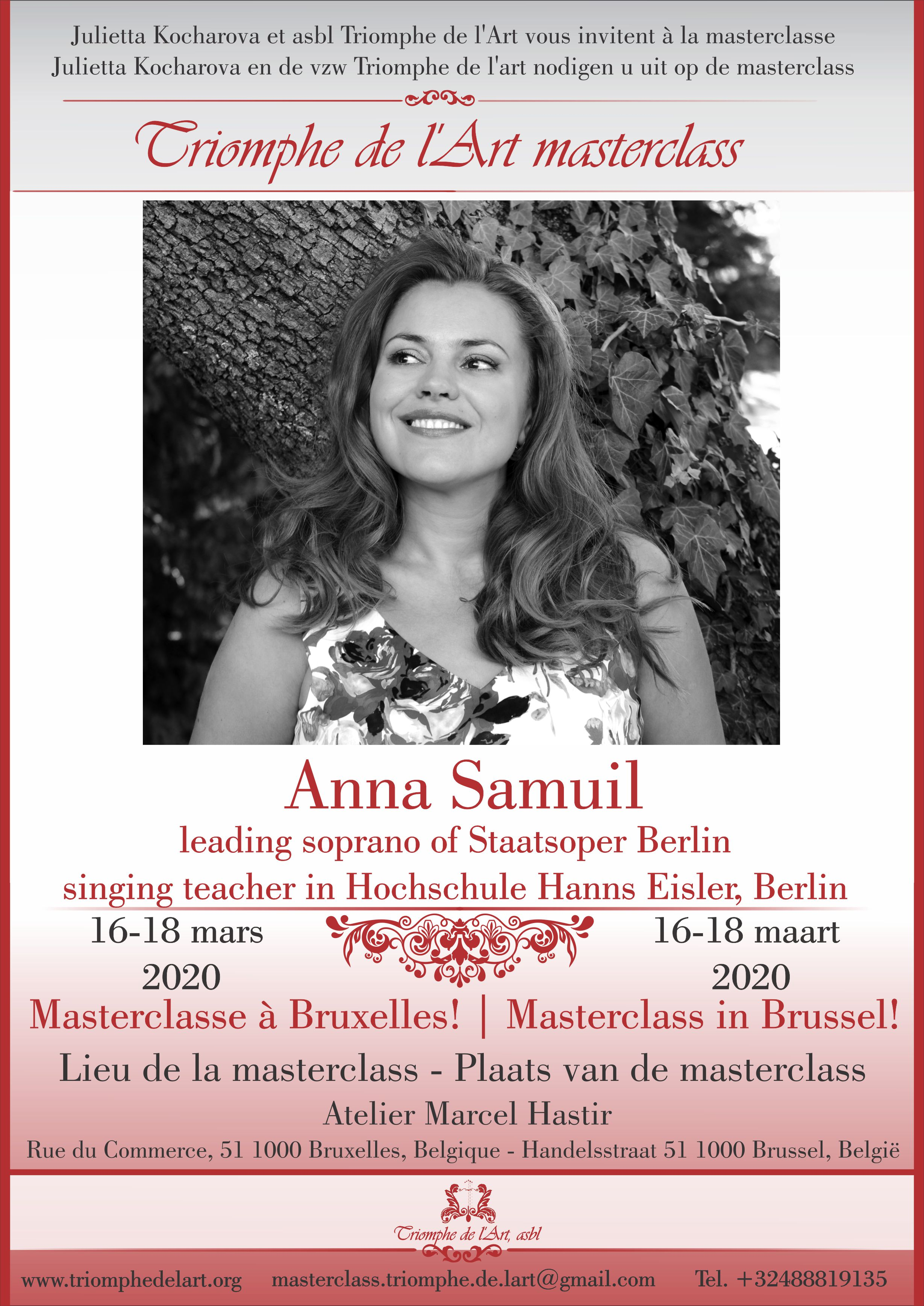 masterclass Anna Samuil