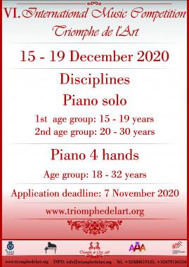 piano competition 2020
