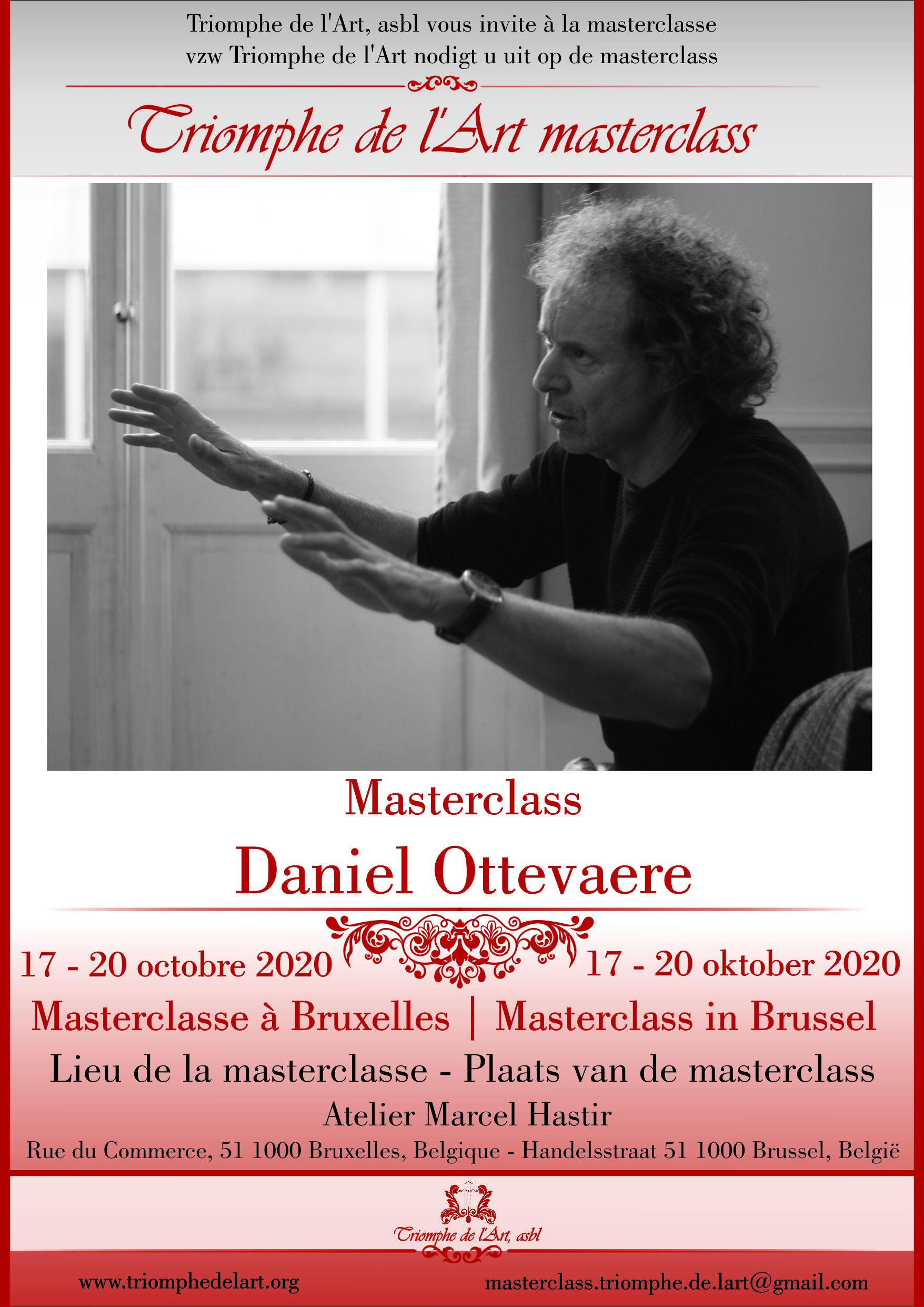 Daniel Ottevaere masterclass octobre 2020