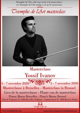 Yossif Ivanov poster masterclass