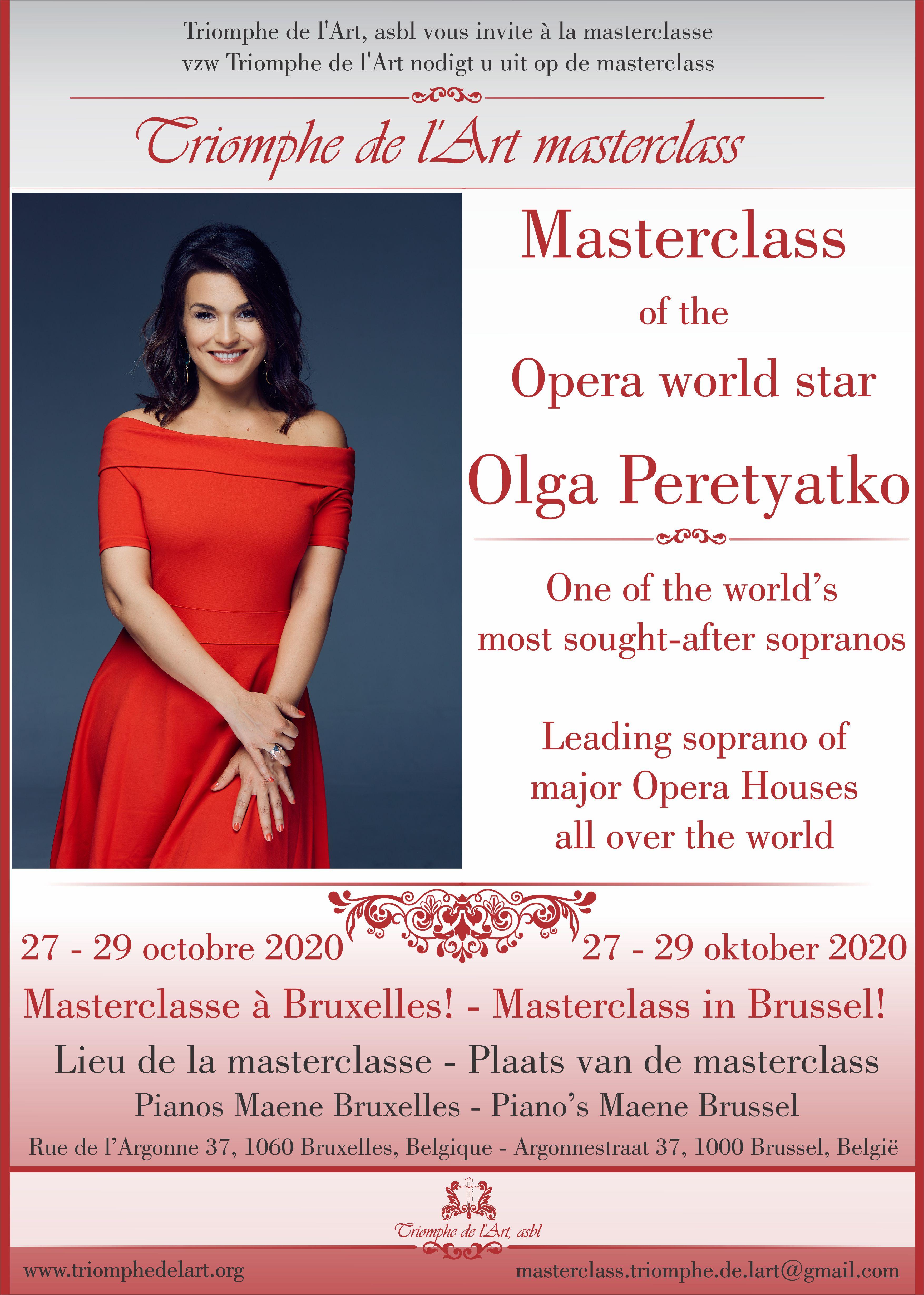 Olga Peretyatko masterclasse