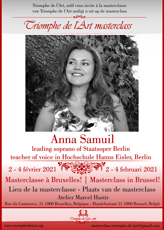 Vocal masterclass of Anna Samuil