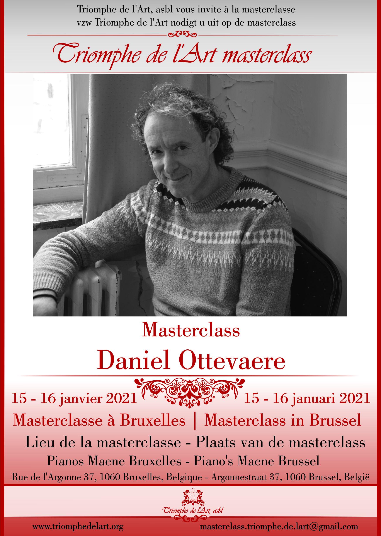 Daniel Ottevaere masterclasse janvier 2021