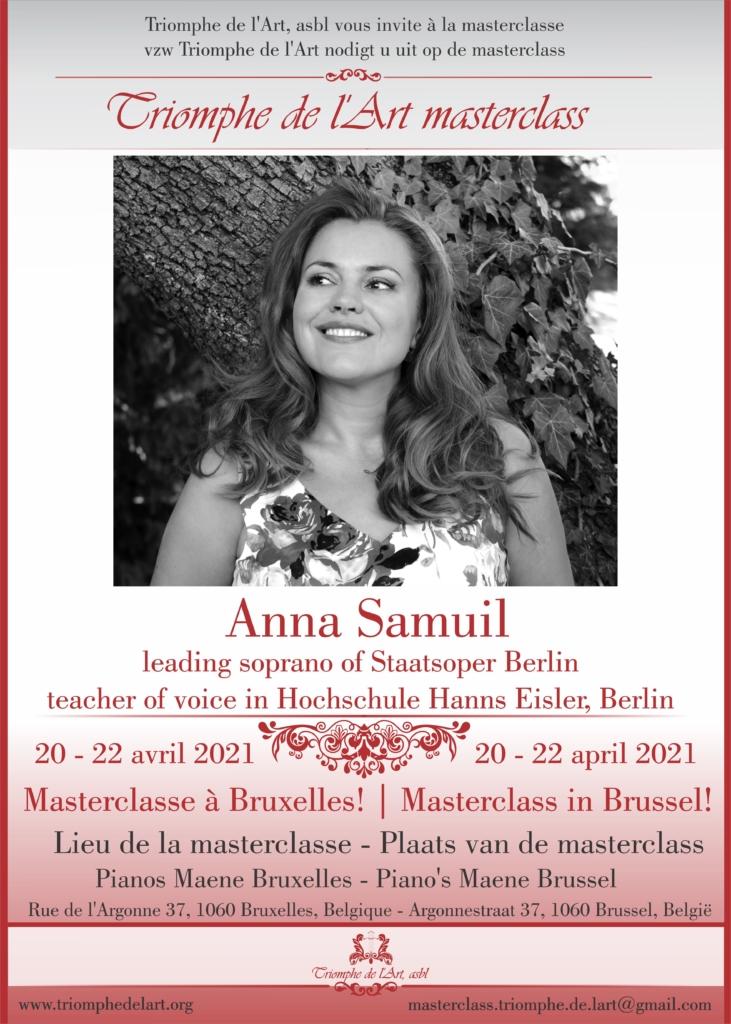 masterclass Anna Samuil 2021