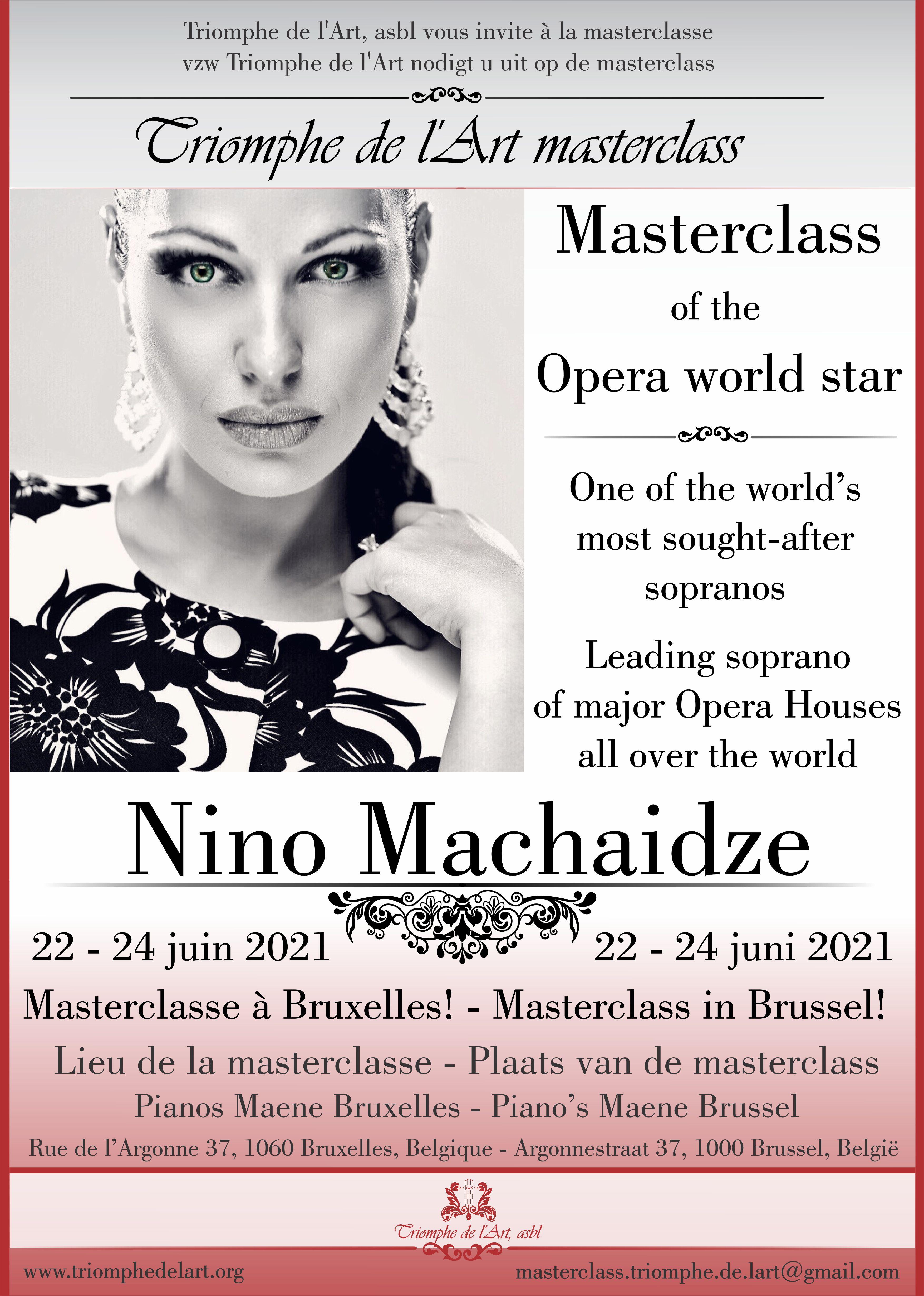 Nino Machaidze masterclass