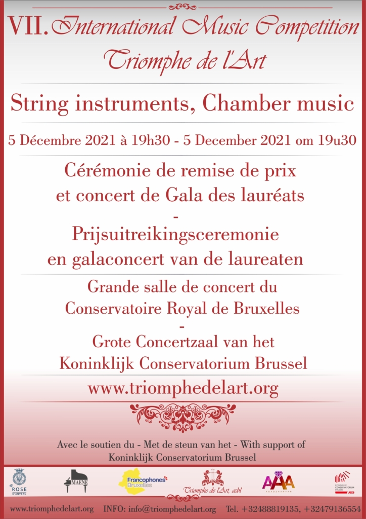 string instruments competition gala concert