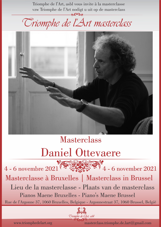 Daniel Ottevaere masterclass november 2021